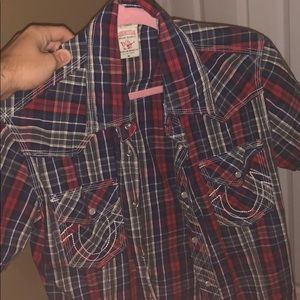 True religion shirt size medium